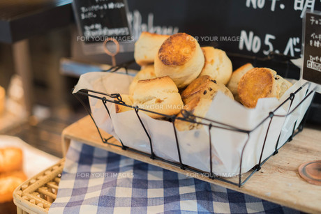 朝のパンの写真素材 [FYI00560399]