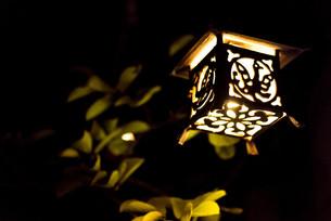 夜の灯の写真素材 [FYI00560407]