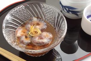 なまこ酢 日本酒の写真素材 [FYI00560413]