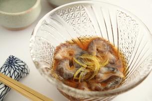 なまこ酢 日本酒の写真素材 [FYI00560414]