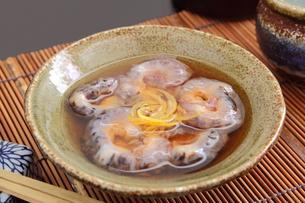 なまこ酢 日本酒の写真素材 [FYI00560415]