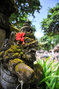 バリ島の石像の写真素材 [FYI00566972]