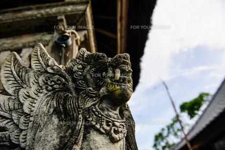 バリ島の石像の写真素材 [FYI00567003]