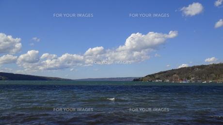 Finger lakeの写真素材 [FYI00567032]
