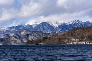 日光・中禅寺湖と山々 - 日光国立公園 -の写真素材 [FYI00567066]