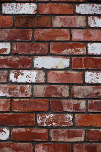 ビンテージな赤レンガの壁|グラフィック素材の写真素材 [FYI00569253]