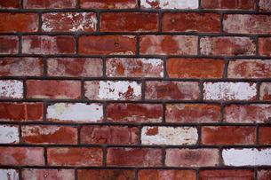 ビンテージな赤レンガの壁|グラフィック素材の写真素材 [FYI00569255]