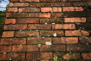 ビンテージなレンガの壁|グラフィック素材の写真素材 [FYI00569258]