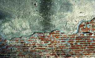 ビンテージなレンガの壁|グラフィック素材の写真素材 [FYI00569260]