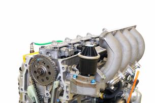 自動車エンジンの整備の写真素材 [FYI00569370]