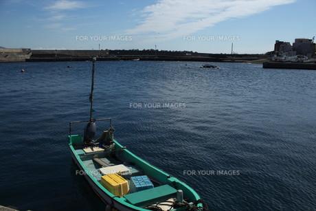 網代漁港の写真素材 [FYI00569440]