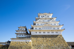 姫路城の写真素材 [FYI00571557]