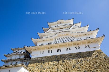 姫路城の写真素材 [FYI00571559]