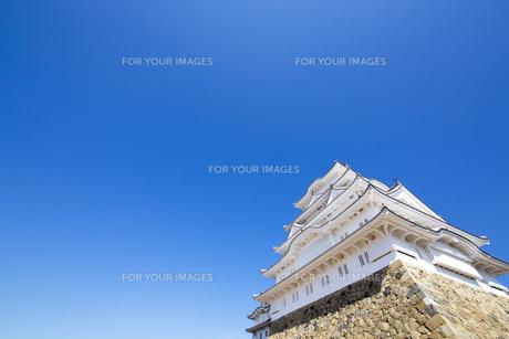 姫路城の写真素材 [FYI00571563]