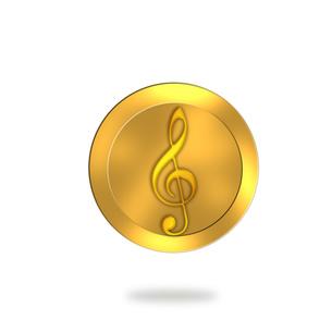 譜面 音楽 アイコンのイラスト素材 [FYI00571857]