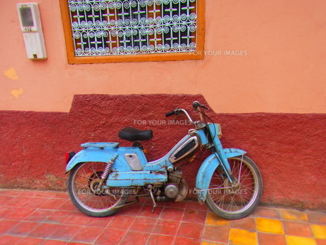 バイクの写真素材 [FYI00571863]