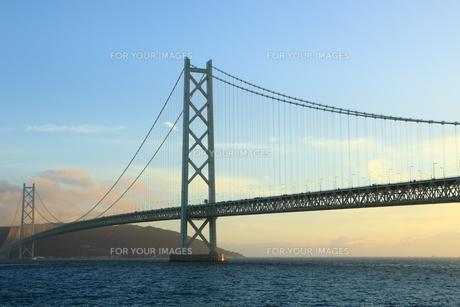 明石海峡大橋の写真素材 [FYI00576256]