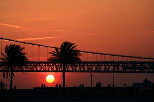 神戸市垂水区 明石海峡大橋の写真素材 [FYI00576267]