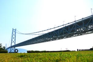 明石海峡大橋の写真素材 [FYI00576276]