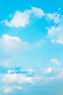 青空と雲、夏の空の写真素材 [FYI00576325]