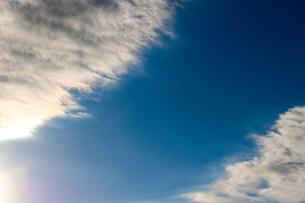 川のような空の写真素材 [FYI00580404]