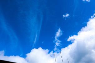 学校の青空の写真素材 [FYI00580438]