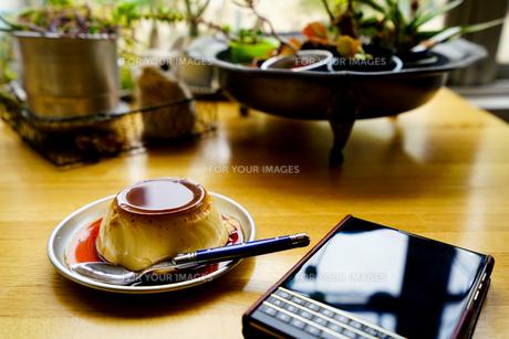 プリン/Pudding/Cremecaramelの写真素材 [FYI00583079]