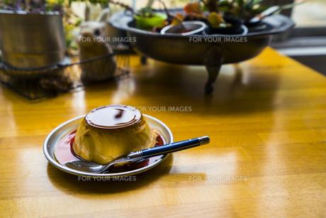 プリン/Pudding/Cremecaramelの写真素材 [FYI00583090]