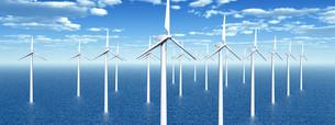 wind power stationの素材 [FYI00584415]