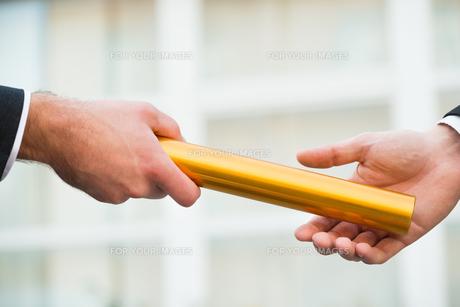 business dealingsの写真素材 [FYI00586897]
