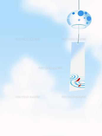 風鈴 夏 日本のイラスト素材 [FYI00589490]