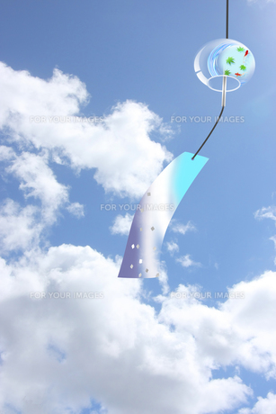 風鈴 夏 日本のイラスト素材 [FYI00589492]