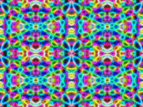 アブストラクト カラフルなバックグラウンドのイラスト素材 [FYI00593944]