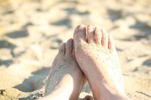 砂浜の写真素材 [FYI00593968]