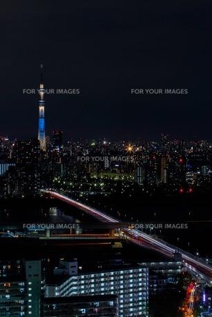 東京の夜の写真素材 [FYI00596035]