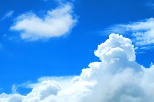 夏空と白雲(入道雲)の写真素材 [FYI00598309]