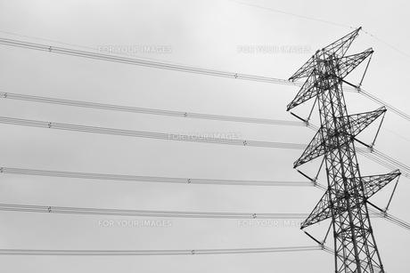電線の写真素材 [FYI00598416]