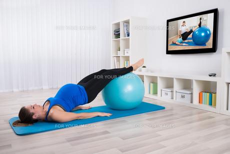 exerciseの素材 [FYI00600979]