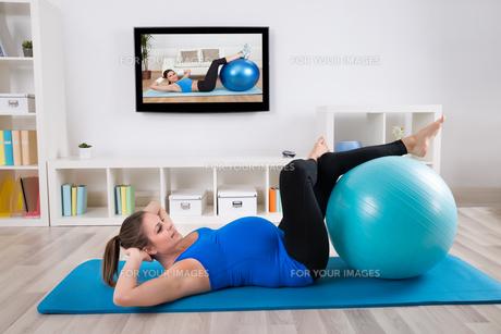 exerciseの素材 [FYI00600981]