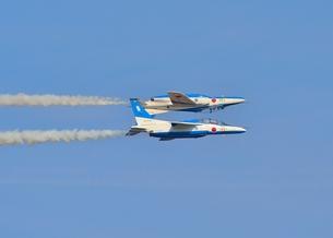 ブルーインパルスの飛行の写真素材 [FYI00602831]