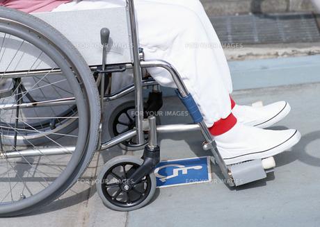 車椅子の写真素材 [FYI00602938]