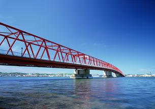 厚岸大橋の写真素材 [FYI00603149]