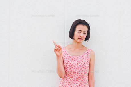 女性ポートレートの素材 [FYI00603437]