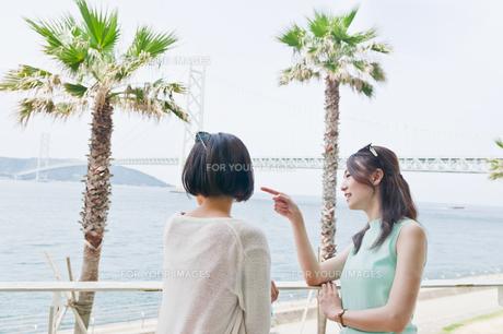 海を眺める女性の素材 [FYI00603737]
