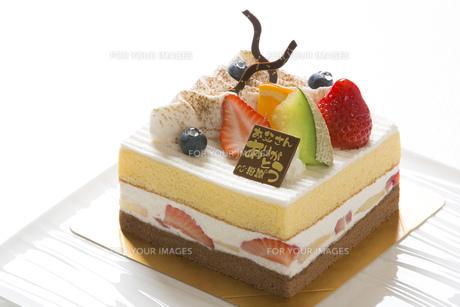 父の日ケーキの写真素材 [FYI00604695]