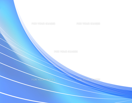 フレーム 曲線模様 抽象模様のイラスト素材 [FYI00604701]