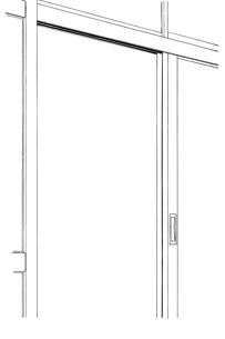 手描き背景線画_学校_教室05のイラスト素材 [FYI00605140]