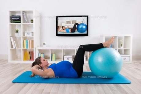 exerciseの素材 [FYI00606776]