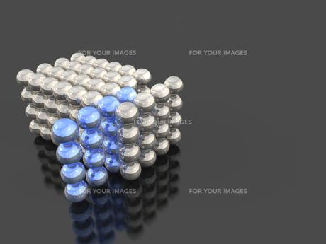 集合する球体のイラスト素材 [FYI00614006]