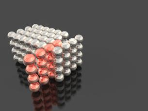 集合する球体のイラスト素材 [FYI00614011]